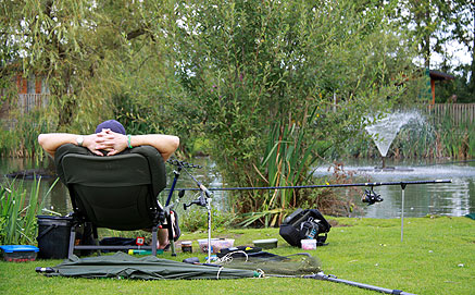 Holiday park with fishing lakes near york