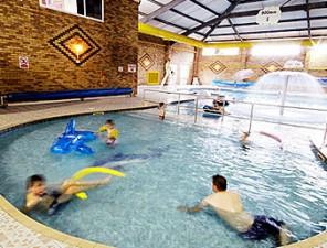 Large indoor fun pool