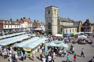 Malton Market - North Yorkshire
