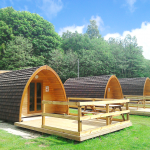 Pods with decking