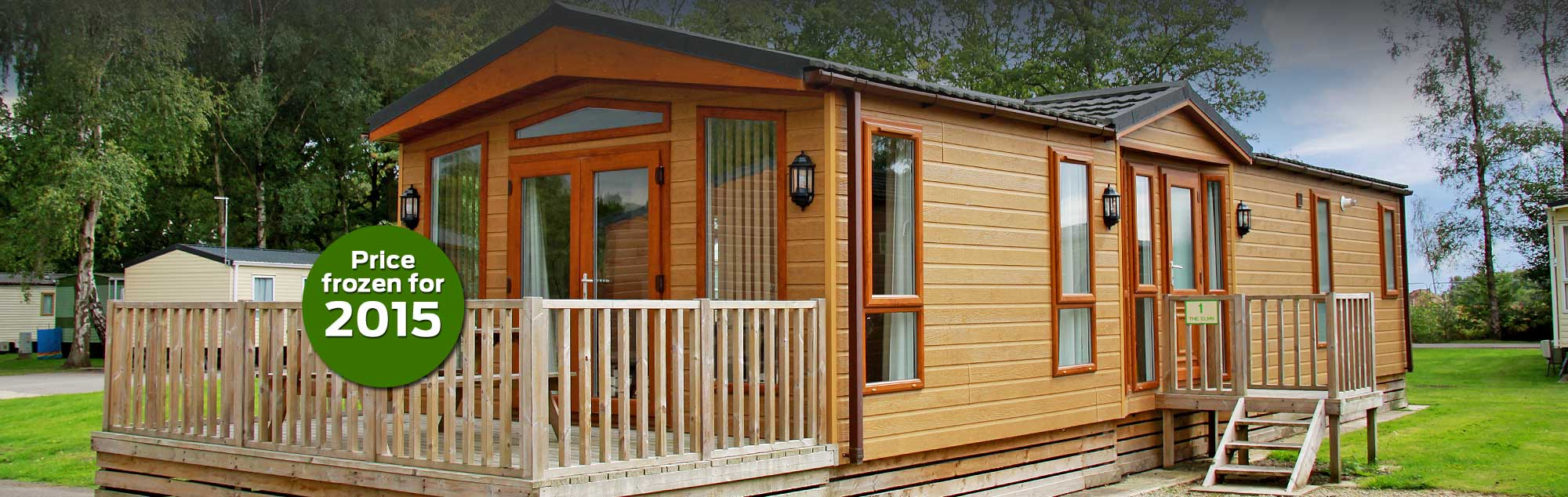 Lodge holidays in York - Prices frozen for 2015