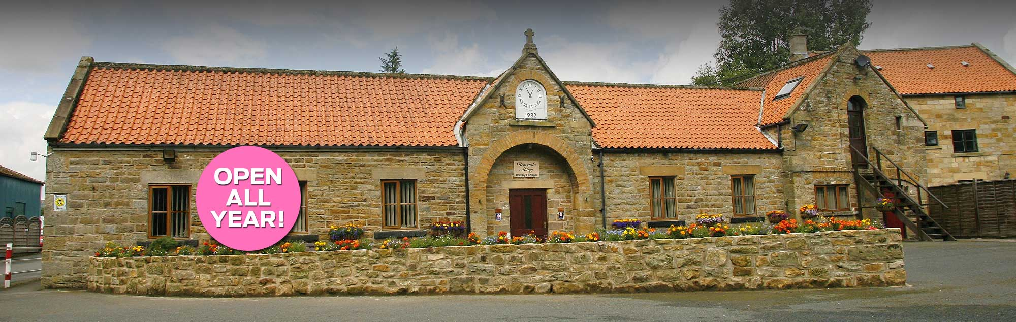 Holiday Cottages in the Yorkshire Moors - Open all year
