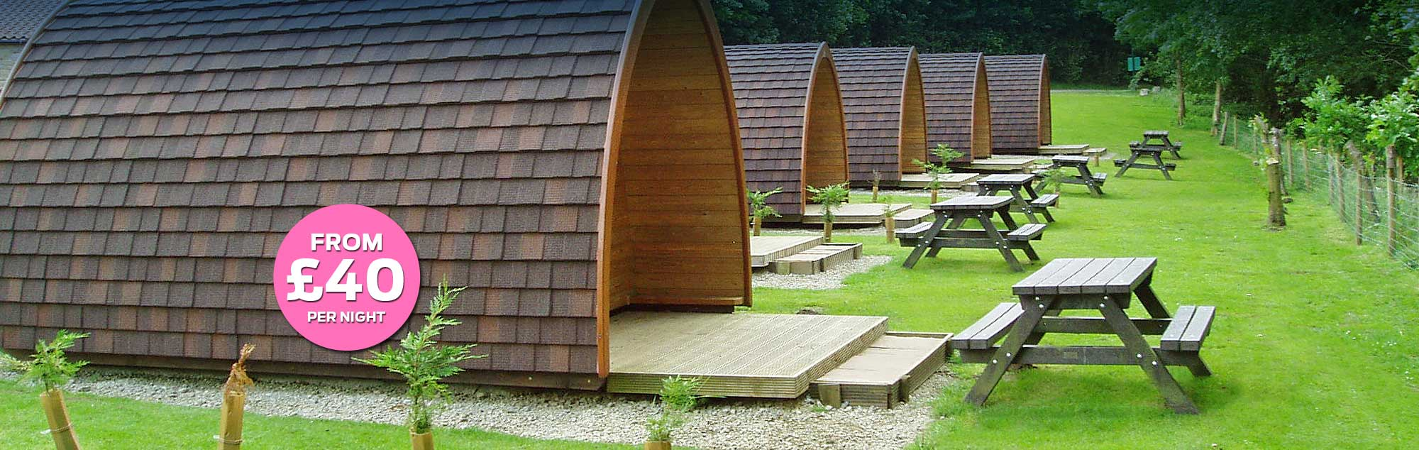 Glamping Pod holidays in Yorkshire - book now