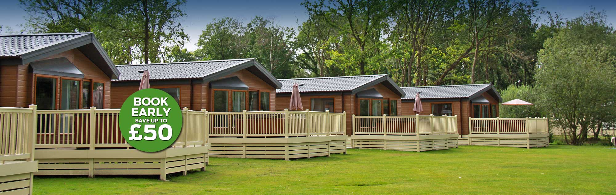Lodge holidays in York - Save up to £50