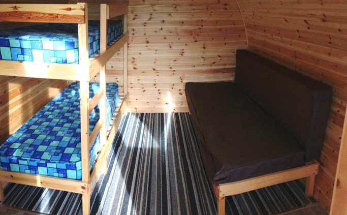 Glamping Pods In Scarborough Yorkshire Flower Of May