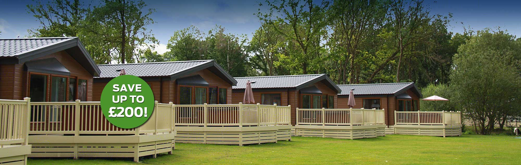 Luxury Lodges near York - Save up to £200