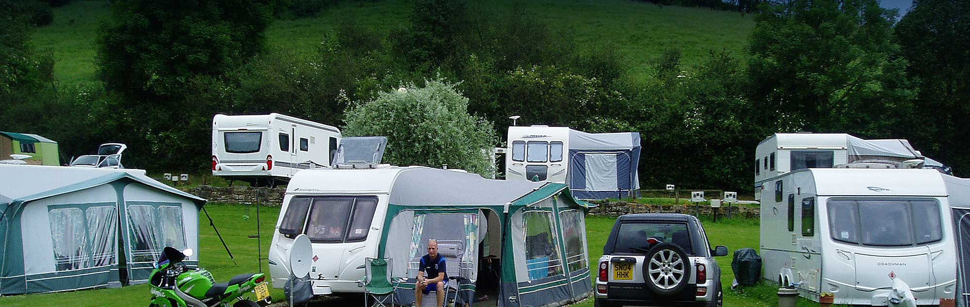 Camping and touring in the North Yorkshire Moors