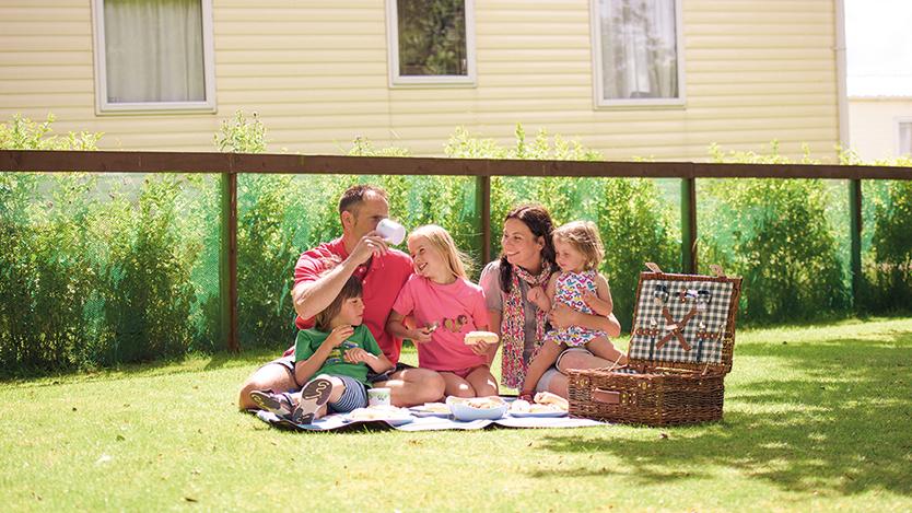 Family caravan holidays in Scarborough