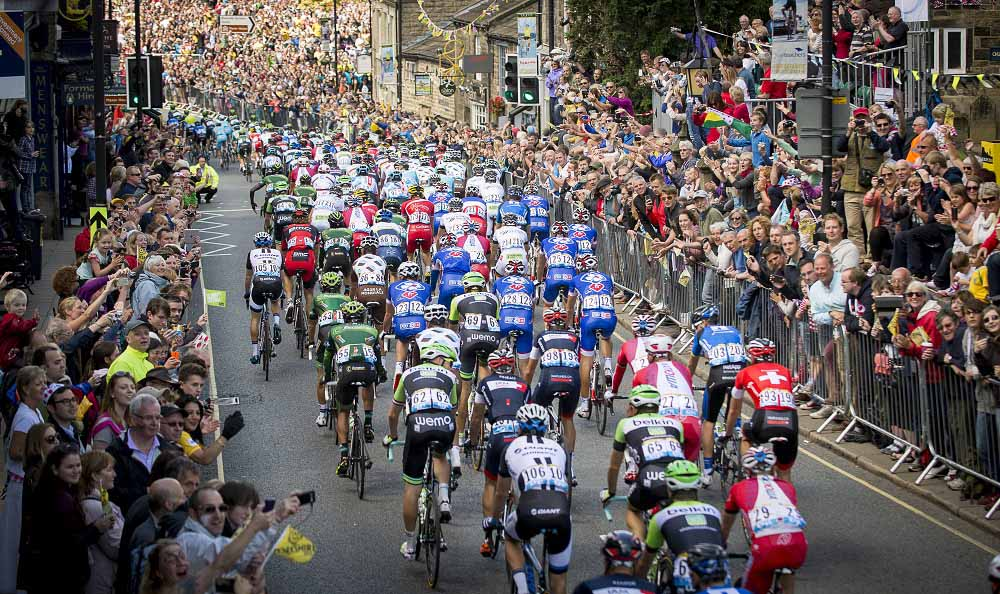 Tour de France 2014 in Yorkshire