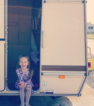 Our very first trip out in our caravan!